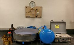 LAB-8 Tension Plate System.