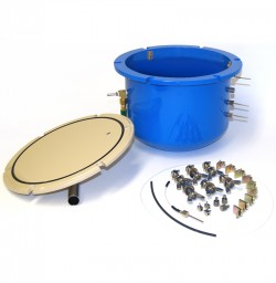 1600 Pressure Plate Extractor