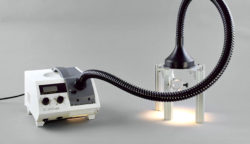 Lighting Unit FL-460 with Special Fibre-optics 460-F mounted to a stand