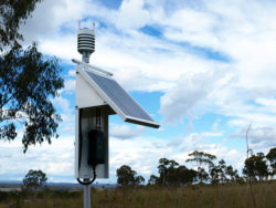 ICT Weather Hub configured with Vaisala sensor