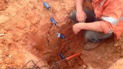 MP406 Soil Moisture Sensors to Measure Lysimeter Infiltration
